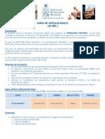 Programa Curso Autocad Basico