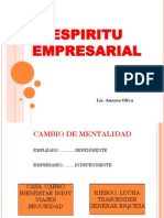 Espiritu Empresarial