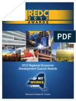 Regional Economic Development Council Funding Awards 2013