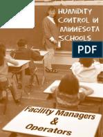 Humidity Control in Schools 2005
