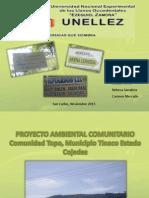 Proyecto Comunitario TOPO