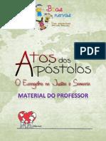 Atos - Evangelho Na Judeia e Samaria PROFESSOR