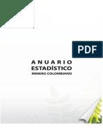 ANUARIO ESTADÍSTICO MINERO COLOMBIANO