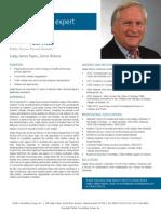 Judge James Payne, PCG Human Services Subject Matter Expert