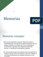 Memorias (1)