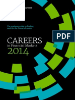 Careers in Financial Markets 2014 (Efinancialcareers)