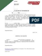 2396-Model Declaratie Conformitate Si Certif. Garantie-51065496544de