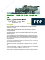 British Petroleum Company Terms and Conditions