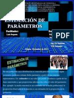 ESTIMACIÓN DE PARAMETROS
