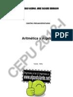 (otoño) AritmeticaAlgebra