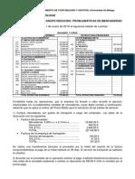 GR 2 Ejercicios  problemática mercaderías GADE Curso 2013-2014