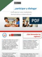 Convivir, Participar y Dialogar1