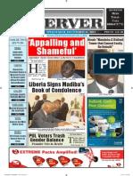 Liberian Daily Observer 12/11/2013