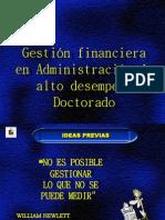 Resumen Gestion Financiera de Administracion Alto Desempe o Doctorado