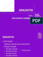 SINUSITIS Presentasiku