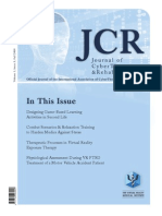 Journal of CyberTherapy and Rehabilitation, Volume 1, Issue 3, 2008