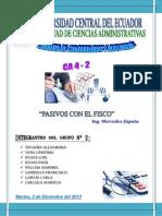 Uce Ca4 2 Pasivos Con El Fisco