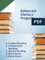 Balanced Literacy Program