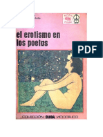 Montaño, Alejandro - El erotismo en los poetas (antología)