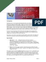 13 Electric Circuits Batteries and Resistors