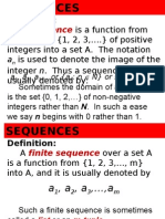 APDISE1Lecture6 Sequences