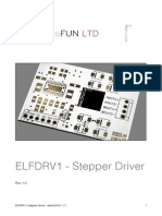 ELFDRV1 Stepper Driver User Manual