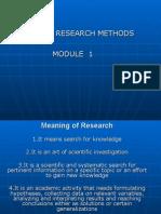 BRM_MODULE 1 Presentation 1