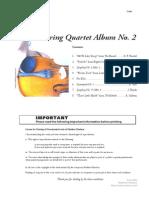 String Qt Album 2 Cello