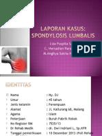 Lapsus Spondylosis