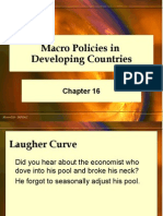 Macro Policies in Develop Ping Countries