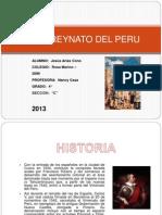 El Virreynato Del Peru
