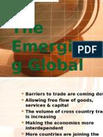 The Emerging Global Economy