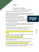 Cristología Pneumatológica