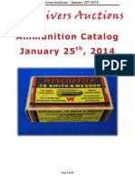 Five Rivers Auctions January 2014 Auction Ammunition Catalog