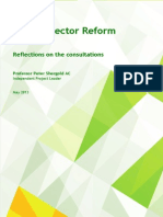 Service Sector Reform Reflections on the Consultations May 2013