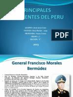 Principales Presidentes Del Peru
