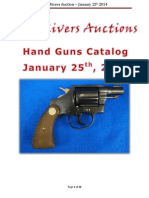 Five Rivers Auctions January 2014 Hand Gun Catalog