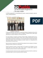 06-06-2013 Sexenio Puebla - Asiste RMV a la 6ta Reunión Regional de Seguridad de la zona centro