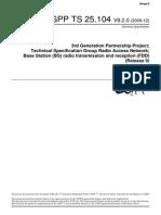 3GPP TS 25.104