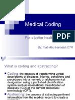 Medical Coding Ihab Abu Hamdeh CTR
