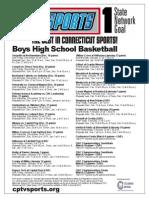 Boys Basketball Flyer