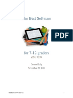 edu 7570 research on best software 2
