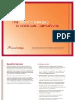 Social Media Gap in Crisis Communications PDF