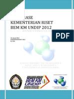 Sa Dan Eksmud Kementerian Riset Bem Km Undip Periode 2012
