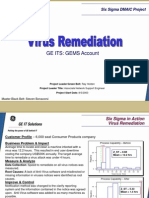 Virus Remediation Six Sigma Case Study