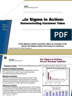 Server Backup Six Sigma Case Study