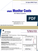Monitor Costs Six Sigma Case Study