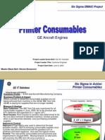 Printer Consumable Process Six Sigma Case Study
