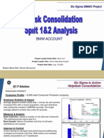BMW Helpdesk Consolidation Six Sigma Case Study