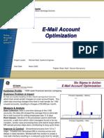 E-Mail Optimization Six Sigma Case Study